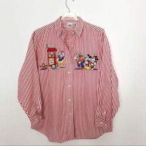 Vintage Disney Button Down Shirt